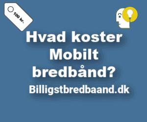 Hvad koster mobilt bredbånd